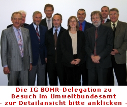 IG Bohr-Delegation in Berlin